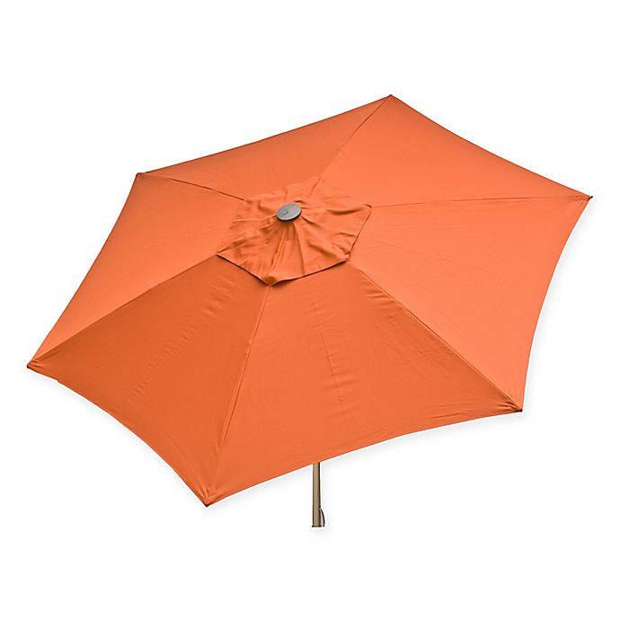 Alternate image 1 for Destinationgear 8.5-Foot Push Up Market Style Umbrella in Rust