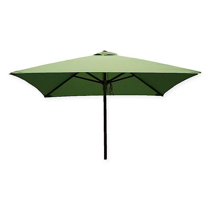 Alternate image 1 for DestinationGear 6.5-Foot Square Wood Umbrella