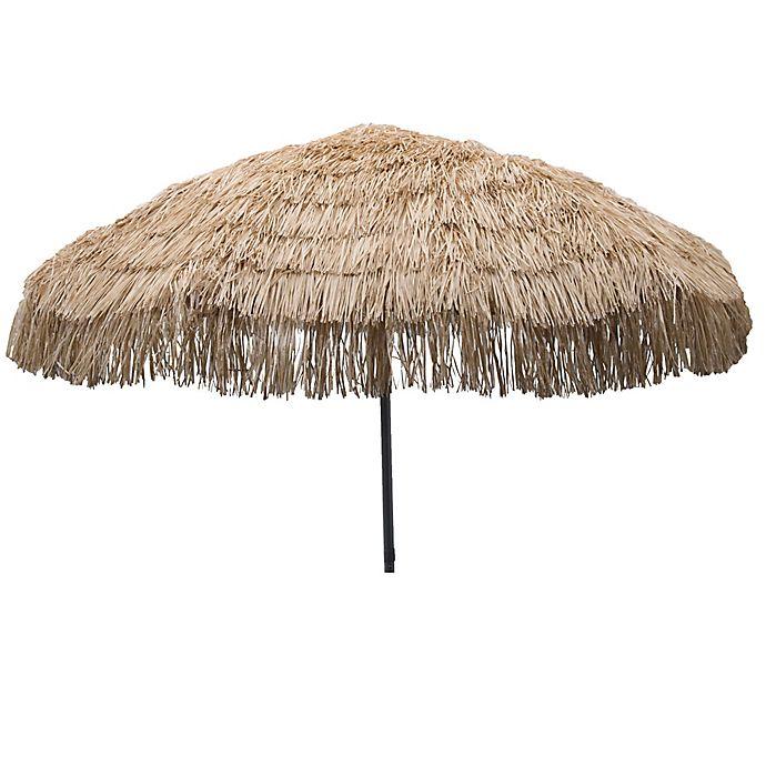 Alternate image 1 for DestinationGear 7.5-Foot Palapa Patio Umbrella in Brown