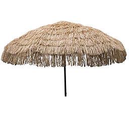 DestinationGear 7.5-Foot Palapa Patio Umbrella in Brown
