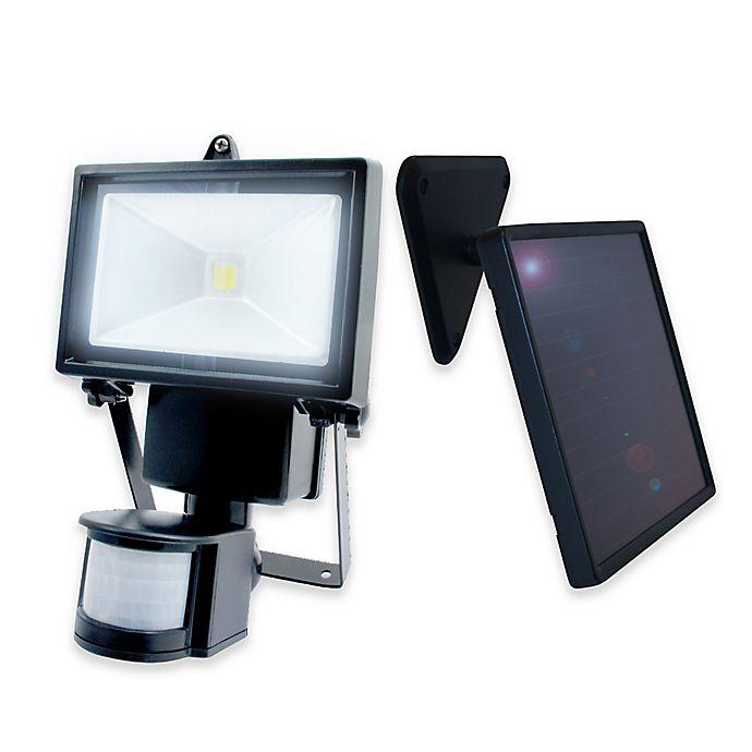 Alternate image 1 for Nature Power 160-Degree Solar Motion Security LED 500 Light