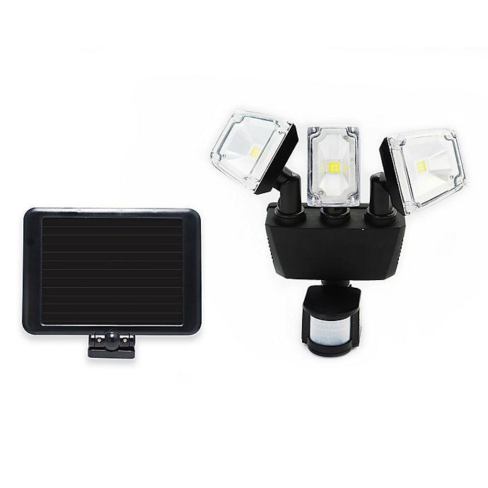 Alternate image 1 for Nature Power 180-Degree Outdoor Solar Motion Security LED Light