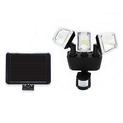 Nature Power 180-Degree Outdoor Solar Motion Security LED Light