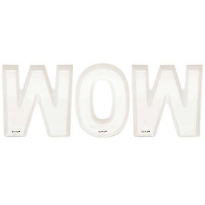 French Bull® Wow Snack Dish in White (Set of 3)