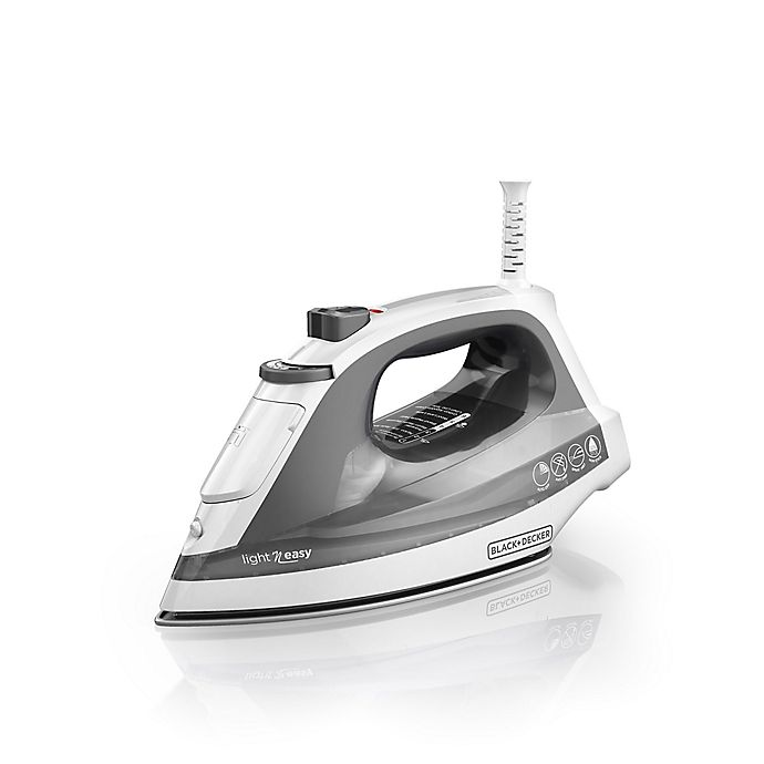 Alternate image 1 for Black & Decker™ Compact Steam Iron