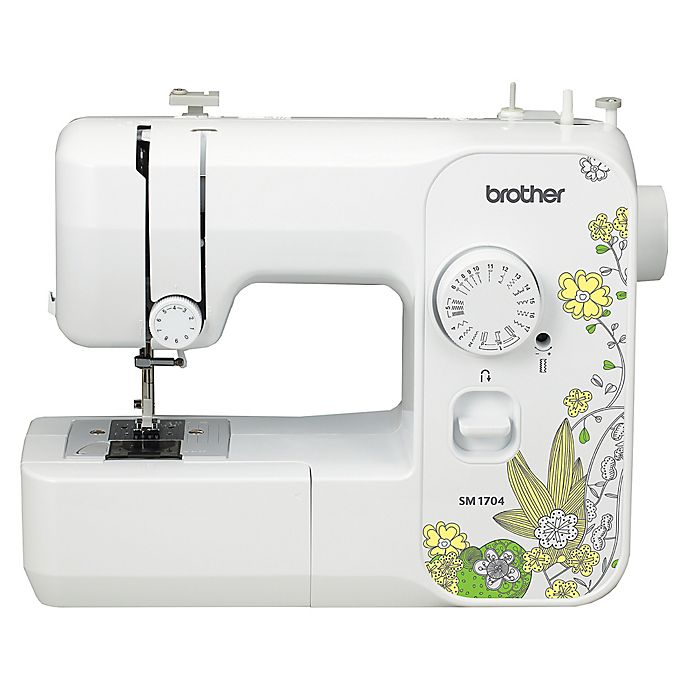 Brother Sewing Machine In White Yellow Bed Bath Amp Beyond