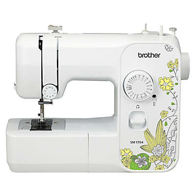 Brother Sewing Machine in White/Yellow
