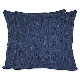 Jasper Square Throw Pillows (Set of 2)