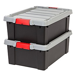 IRIS® Store-It-All 10-Gallon Heavy Duty Storage Totes (Set of 2)