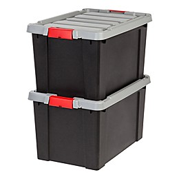 IRIS® Store-It-All 18-Gallon Heavy Duty Storage Totes (Set of 2)