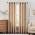 Reina 84-Inch Grommet Top Window Curtain Panel in Ivory