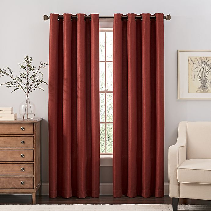 Alternate image 1 for Reina Grommet Top Window Curtain Panel