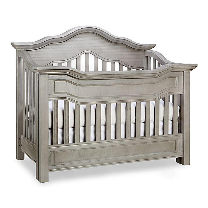 Alternate image 1 for Baby Appleseed® Millbury 4-in-1 Convertible Crib in Morning Mist