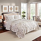 Marble Hill Torrey Queen Reversible Quilt Set in Taupe
