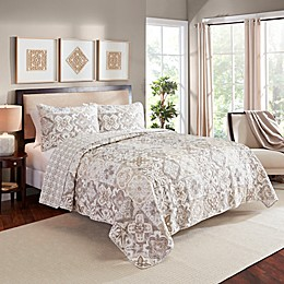 Marble Hill Torrey Reversible Quilt Set