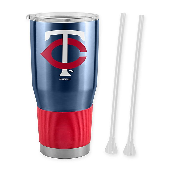 Alternate image 1 for MLB Minnesota Twins 30 oz. Ultra Tumbler with Straws