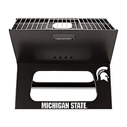 Michigan State University Spartans Picnic Time® X-Grill Portable BBQ