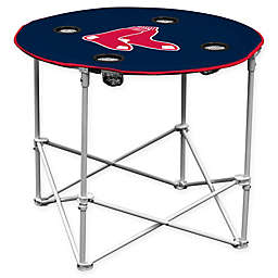 Boston Red Sox Round Collapsible Table in Midnight Navy