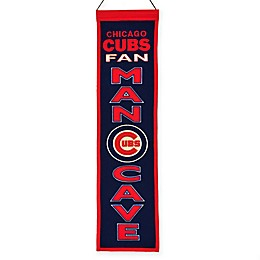 MLB Chicago Cubs Man-Cave Banner