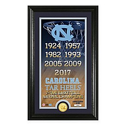 North Carolina 2017 NCAA Men's Basketball National Champions Legacy Bronze Coin Photo Mint