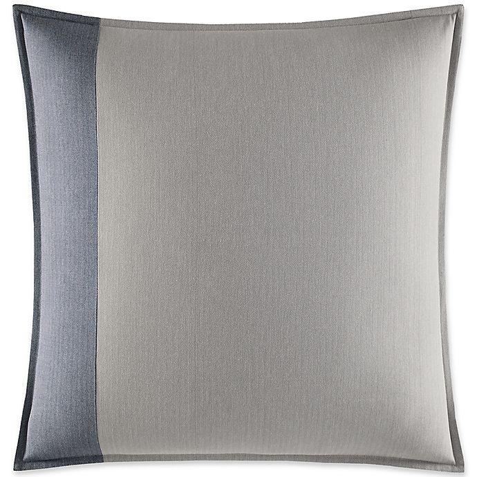 Alternate image 1 for Nautica® Fairwater European Pillow Sham in Medium Blue/Grey