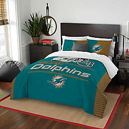 NFL Miami Dolphins Draft Full/Queen Comforter Set