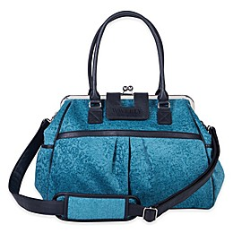 Waverly® Baby by Trend Lab® Strands Stetson Lagoon Framed Diaper Bag