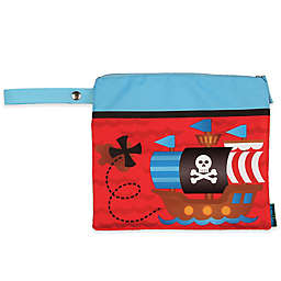 Stephen Joseph® Pirate Wet/Dry Bag in Red
