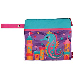 Stephen Joseph® Seahorse Wet/Dry Bag in Purple