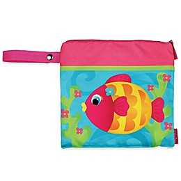 Stephen Joseph® Fish Wet/Dry Bag in Teal