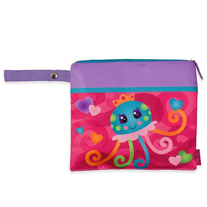 Alternate image 1 for Stephen Joseph® Jellyfish Wet/Dry Bag in Pink