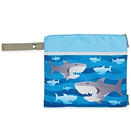Stephen Joseph® Shark Wet/Dry Bag in Blue