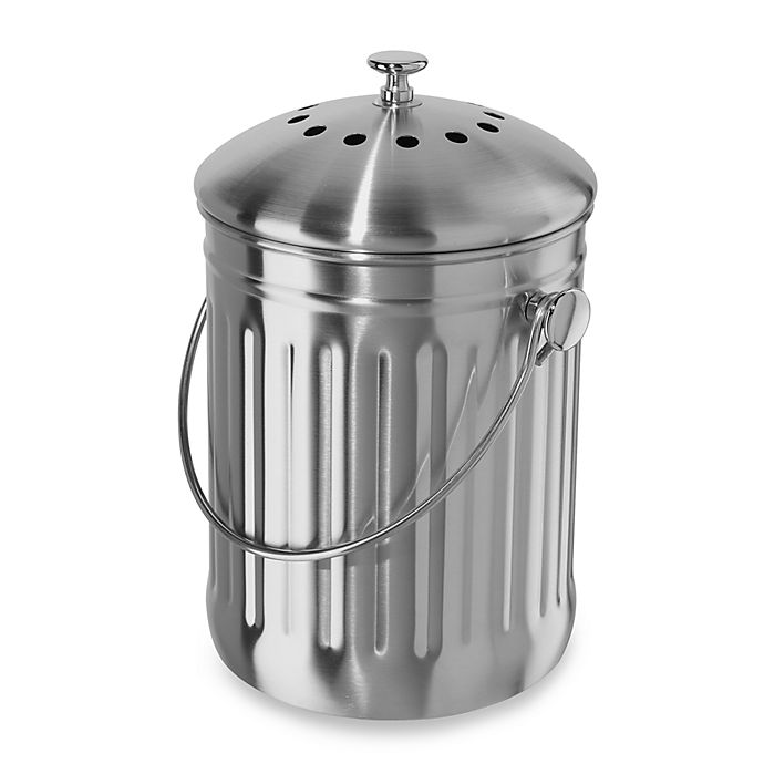 Alternate image 1 for Oggi™ Stainless Steel Composter
