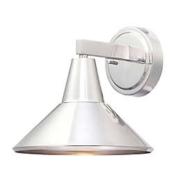 Minka Lavery®  Bay Crest Wall Mount Outdoor Light in Brushed Steel