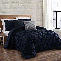 Brooklyn Loom Jackson Pleated Duvet Set