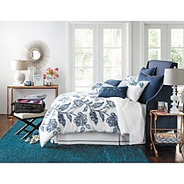 Blossoming in Blue Traditional Bedroom
