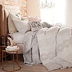 Peri Home Cut Geo Full/Queen Comforter Set in Lilac