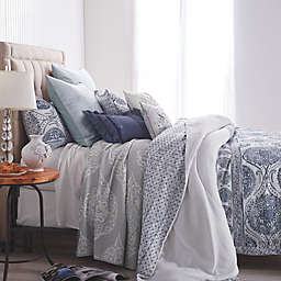 Peri Home Matelasse Medallion Reversible Duvet Cover