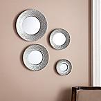 Southern Enterprises Sphere 4-Piece Wall Mirror