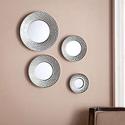 Southern Enterprises Sphere 4-Piece Wall Mirror