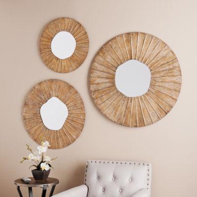 Southern Enterprises Lucien 3-Piece Decorative Mirror Set ...