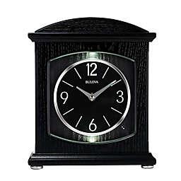 Bulova Glendale Bluetooth Table Clock in Black
