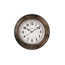 Bulova Albany Solid Hardwood Clock in Dark Cherry