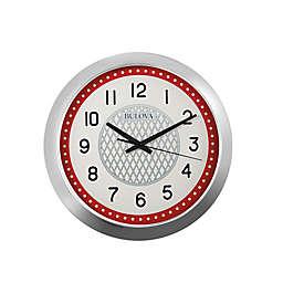Bulova Juke Box Retro Dinner Wall Clock with Bluetooth