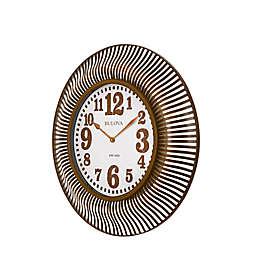 Bulova Sunburst Wall Clock