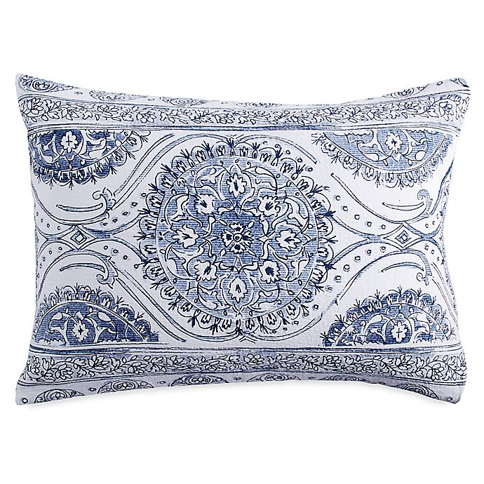 Alternate image 1 for Peri Home Matelasse Medallion Pillow Sham