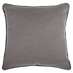 Make-Your-Own-Pillow Dana 20-Inch x 20-Inch Throw Pillow Cover in Grey