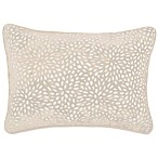 Make-Your-Own-Pillow Karst Oblong Throw Pillow Cover in Champagne