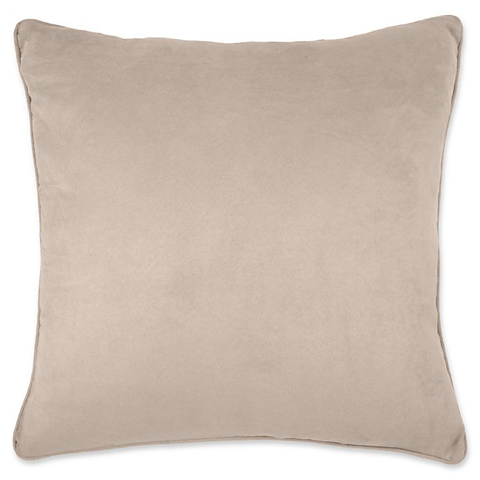 Make Your Own Pillow Izmir Suede Throw Pillow Cover Bed