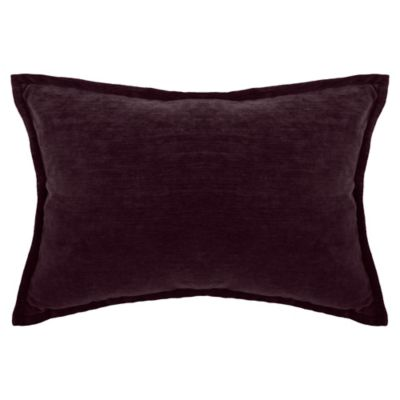 Make Your Own Pillow Sola Chenille Rectangle Throw Pillow